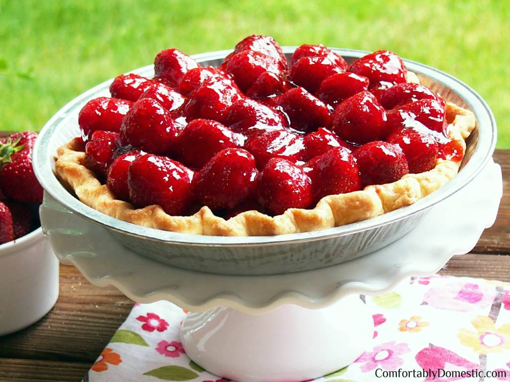 Fresh-Strawberry-Pie | Comfortably Domestic
