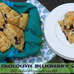 Procrastinating the Summer Send-off, and Suffering for the Craft: Dark Chocolate Blueberry Scones