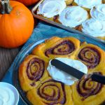 Pumpkin Week Kick-off: Pumpkin Cinnamon Rolls