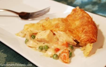 Chicken Pot Pie   ComfortablyDomestic.com