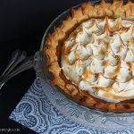 Pie Week Continues with a Little History and a Maple Sweet Potato Pie with Toasted Swiss Meringue