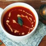 Surviving the Vortex with a Ten Minute Tomato Soup Recipe