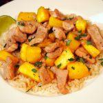 Dinner in a Jiff: Pork and Pineapple Stir Fry