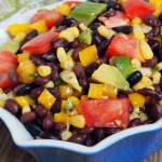 {Healthy Recipes} Black Bean and Corn Salad #30MinuteMeals