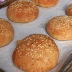 Italian Herb Cheese Burger Buns