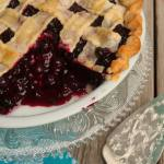 The Best, Perfect Blueberry Pie Recipe, Because The Baby Said So.
