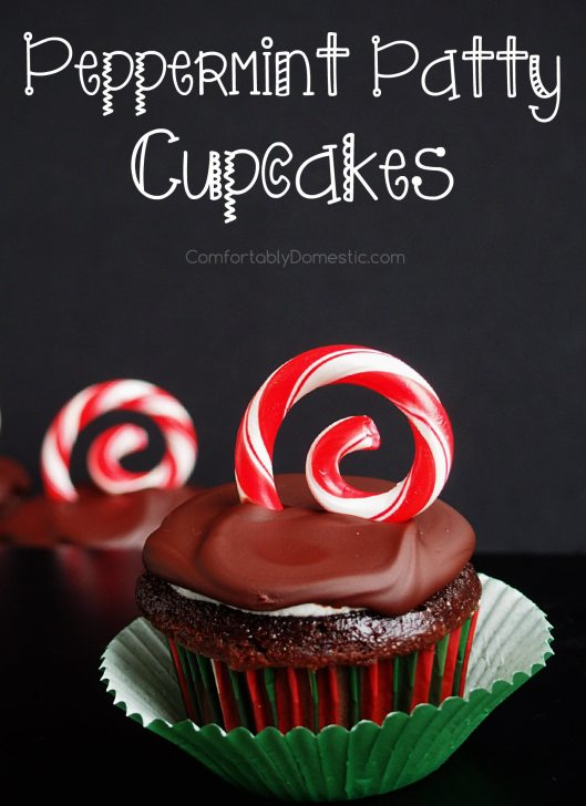 Peppermint-Patty-Cupcakes | ComfortablyDomestic.com