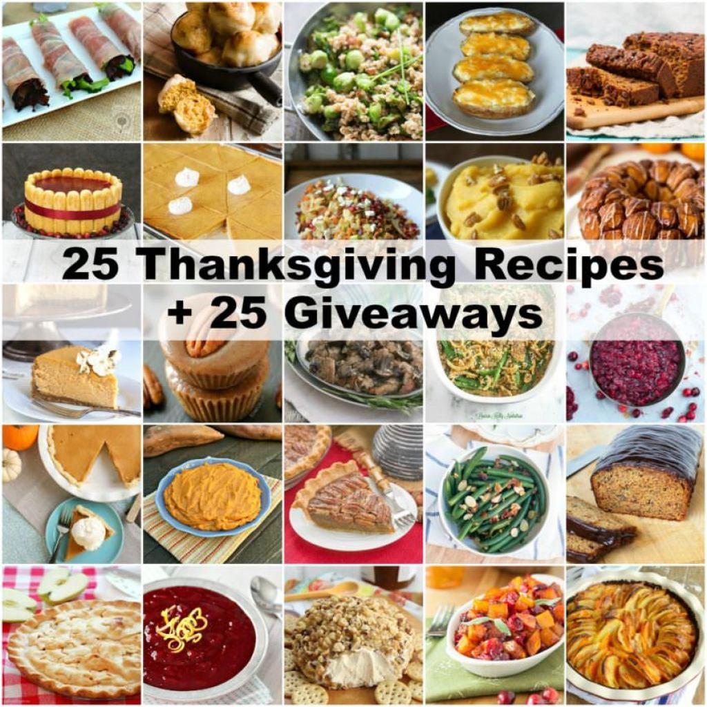 25-Thanksgiving-Recipes-25-Giveaways | ComfortablyDomestic.com