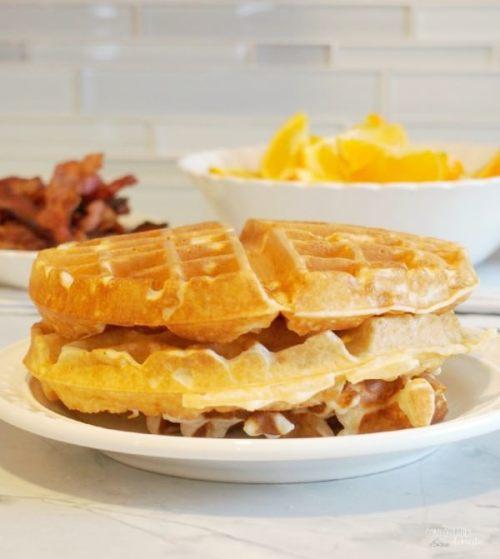Easy Overnight Waffles