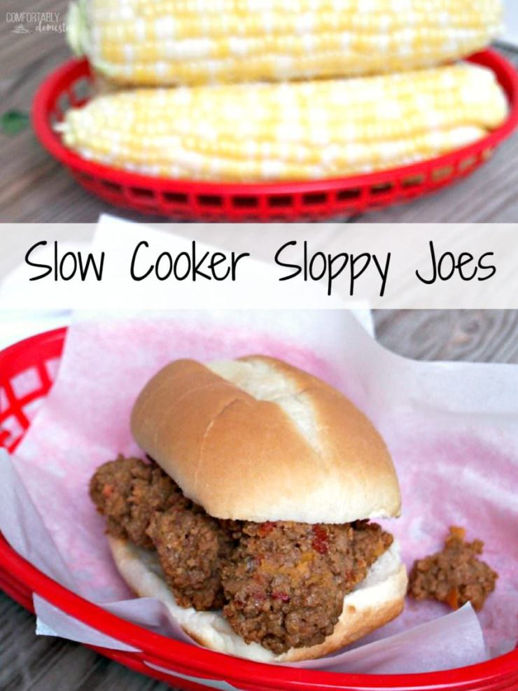 ... beef, sausage, and tomatoes. Slow Cooker Sloppy Joes are a comforting
