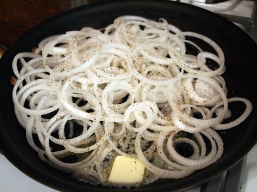 onions in butter