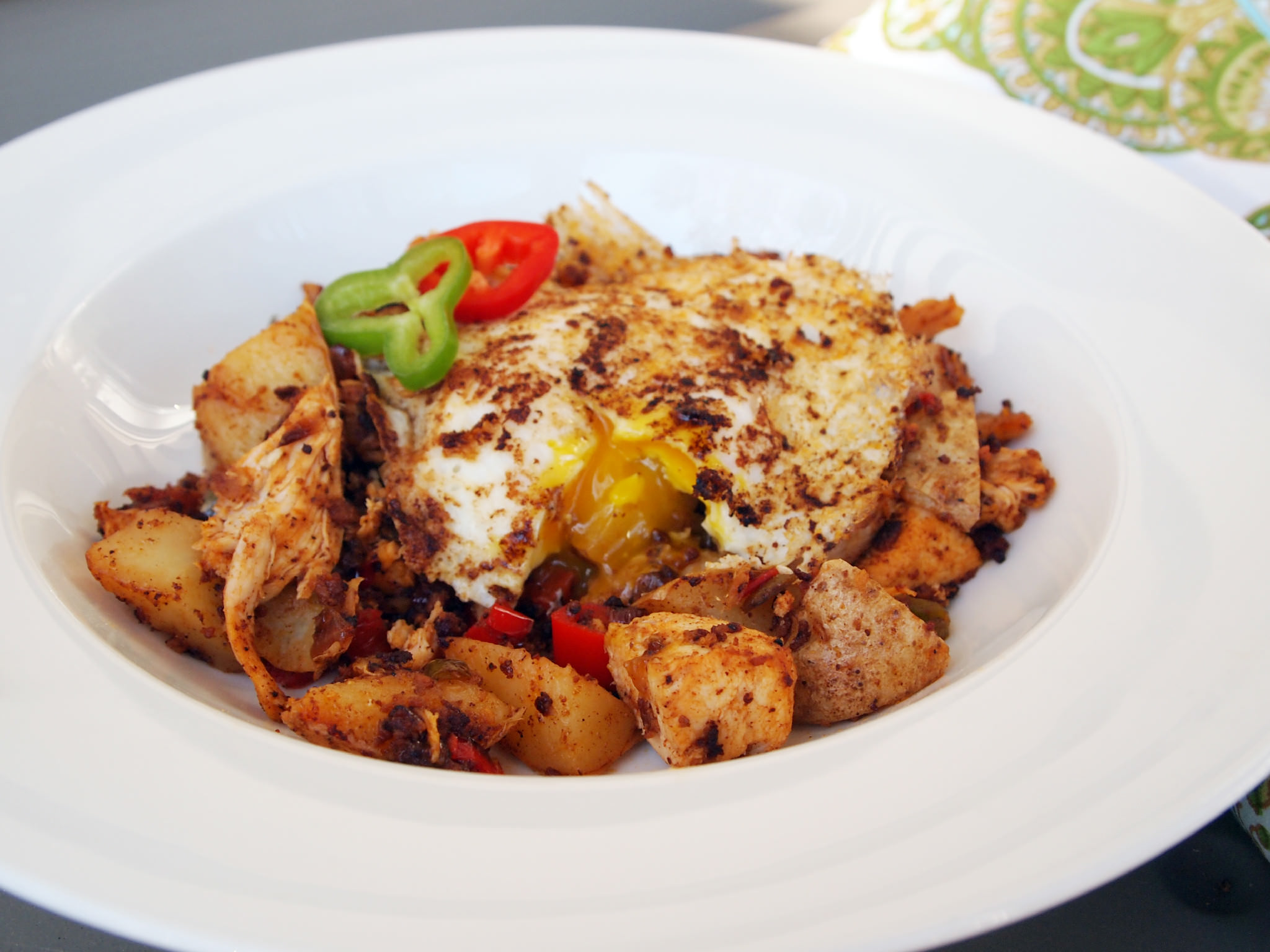 Turkey-Hash-Chorizo