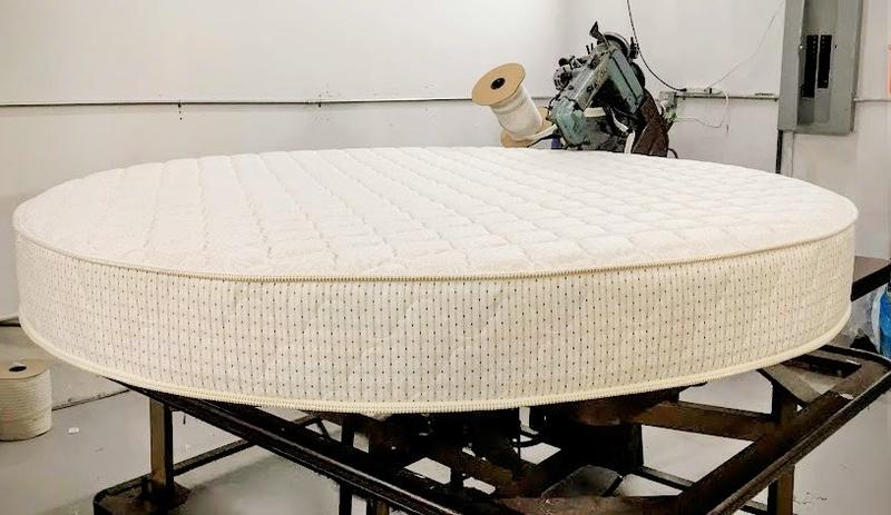 How To Make Headboards For King Size Beds Round Mattress & Round Beds | Comfort Custom Mattresses