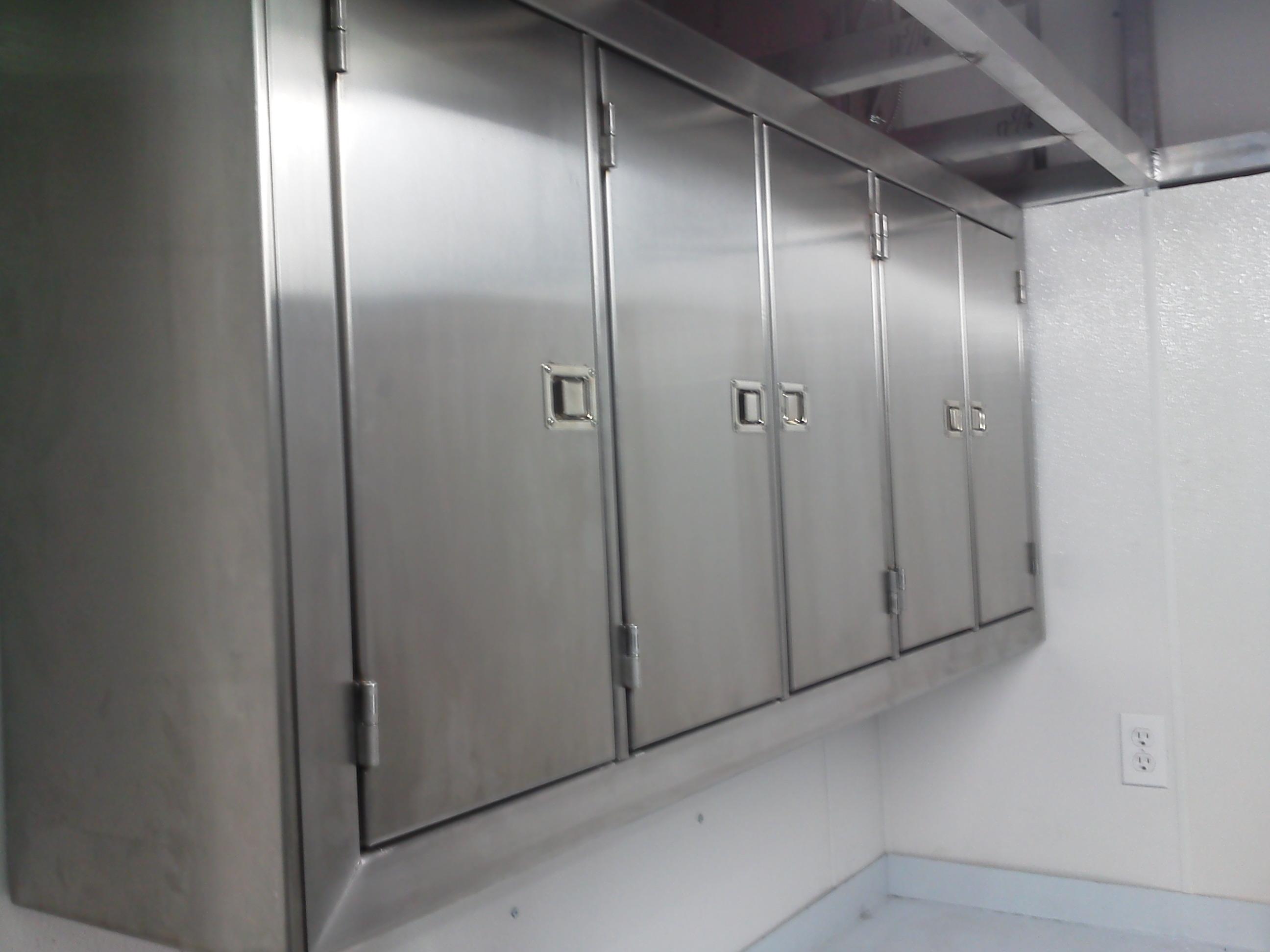 Fullsize Of Stainless Steel Cabinets
