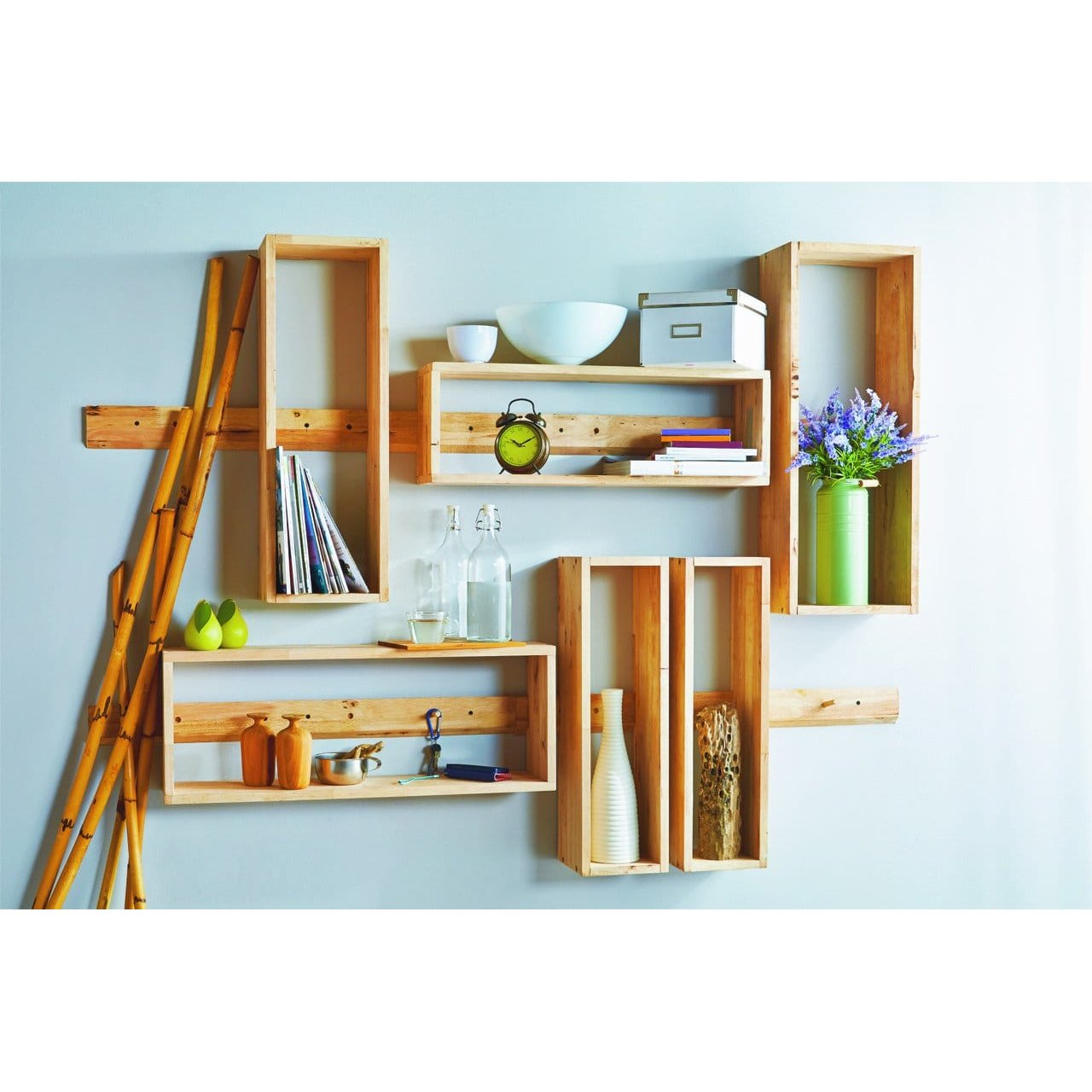 Wall Shelf Design Aziz Wall Shelf 3 Rectangles Comfort Design The Chair