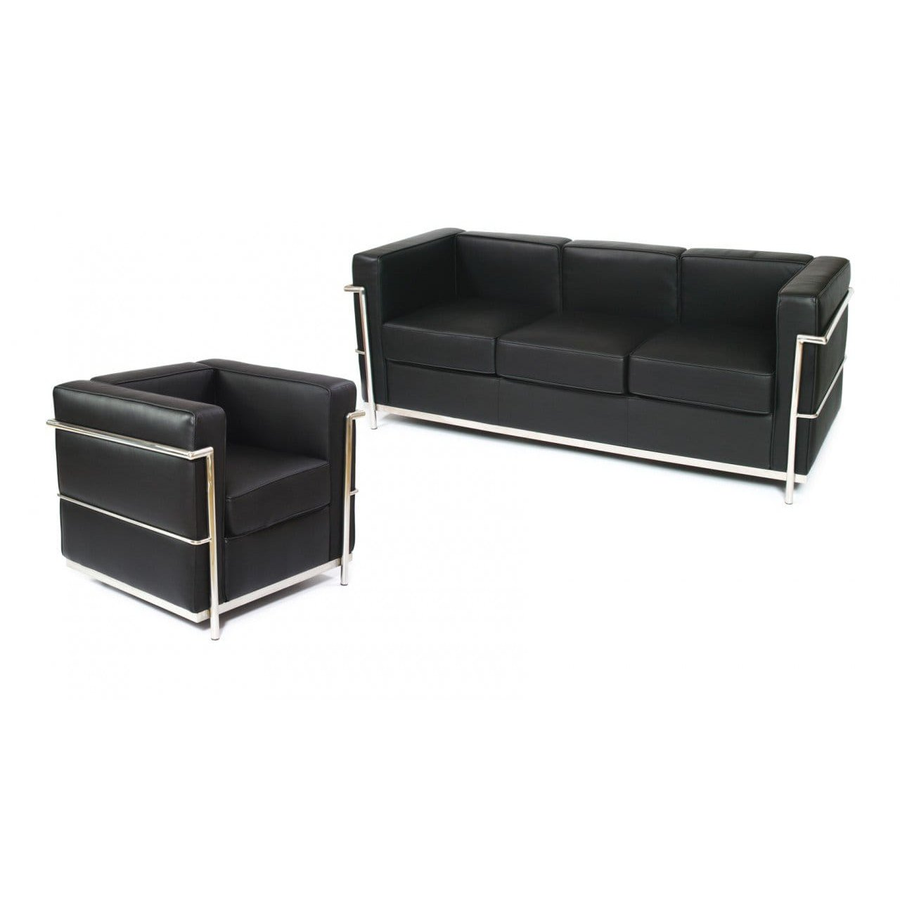 Sofa Scandinavian Jakarta Le Corbusier Replica 3 Seater Sofa Comfort Design The Chair