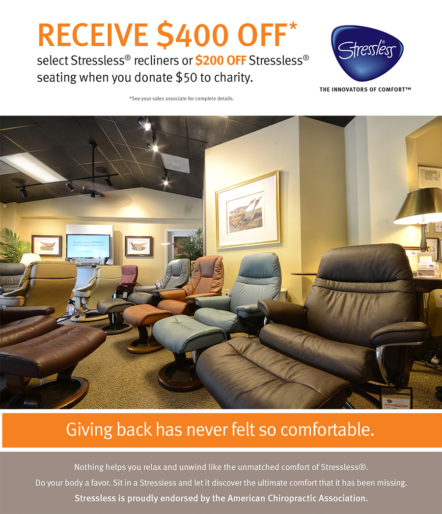 Stressless Sofa Dealers Stressless Charity Special