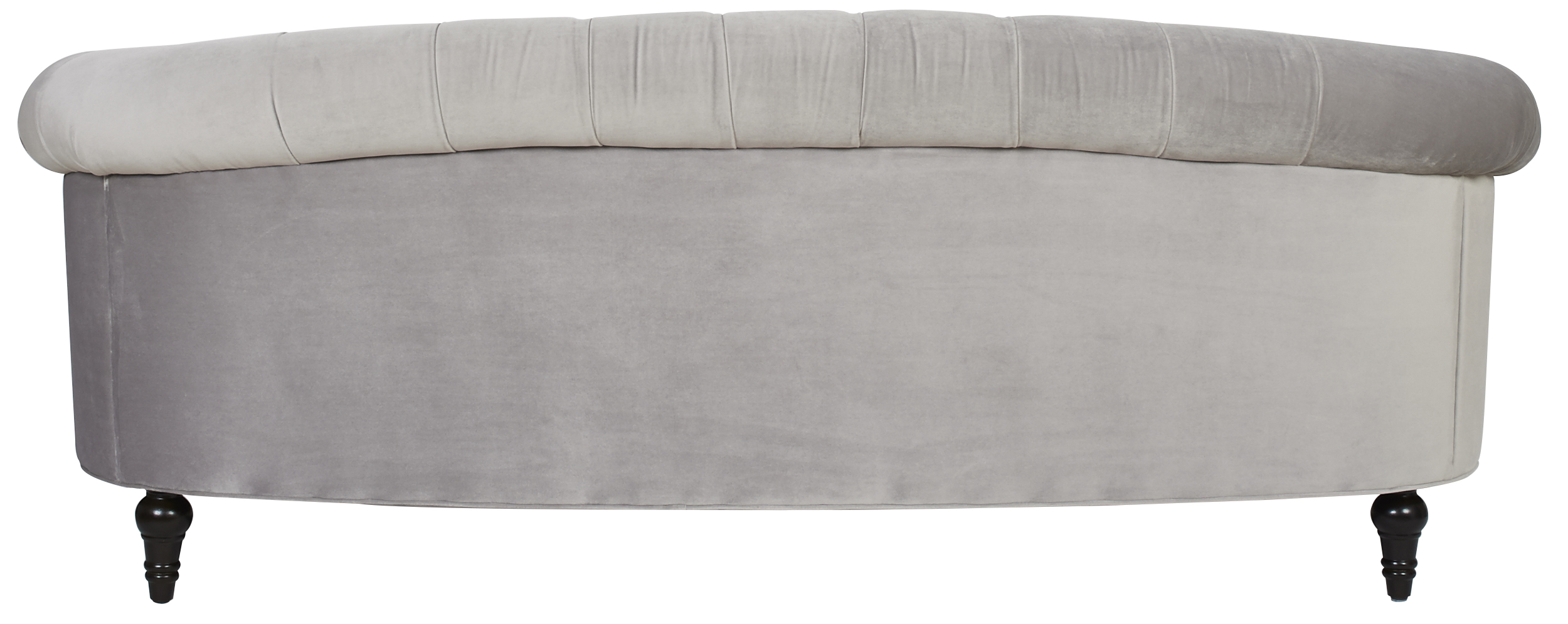 Chesterfield Sofa Velvet Fabric Fabric Wooden Chesterfield Velvet Sofa Opal Grey