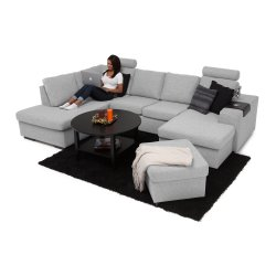 Small Crop Of U Shaped Couch