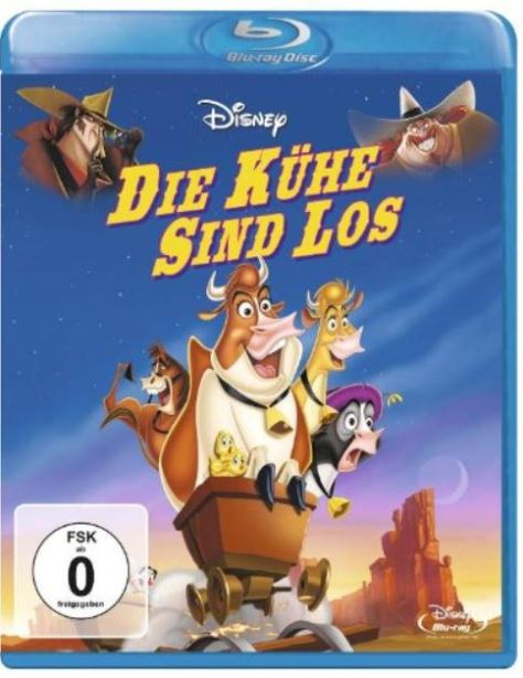 Walt Disney: Die Kühe sind los