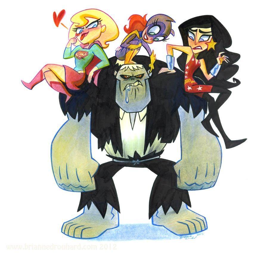 Gotham Girls Derby Wallpaper Super Best Friends Forever Vs Solomon Grundy Comic Art