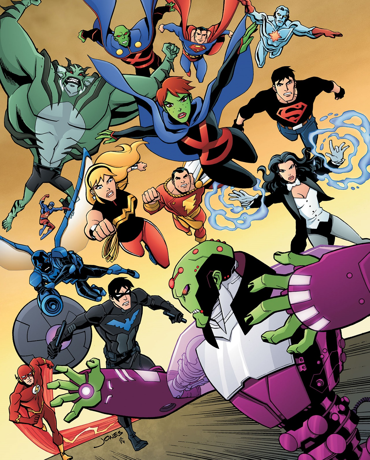 Comic Art Young Justice Interview With Christopher Jones Comic Art Community