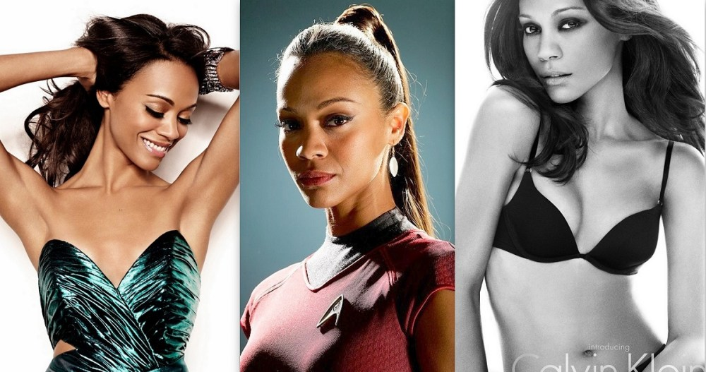 10 Breathtaking Pictures Of The New Uhura – Zoe Saldana!