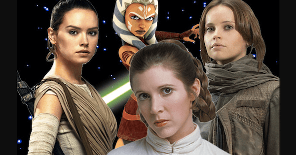 13 Amazing Female Characters Of Star Wars Universe!