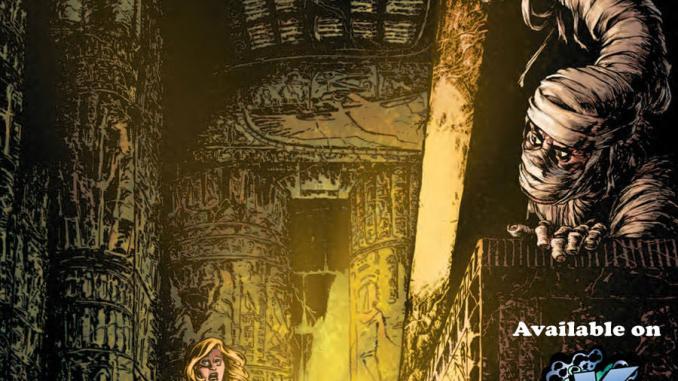 Necrotic #1 cover.