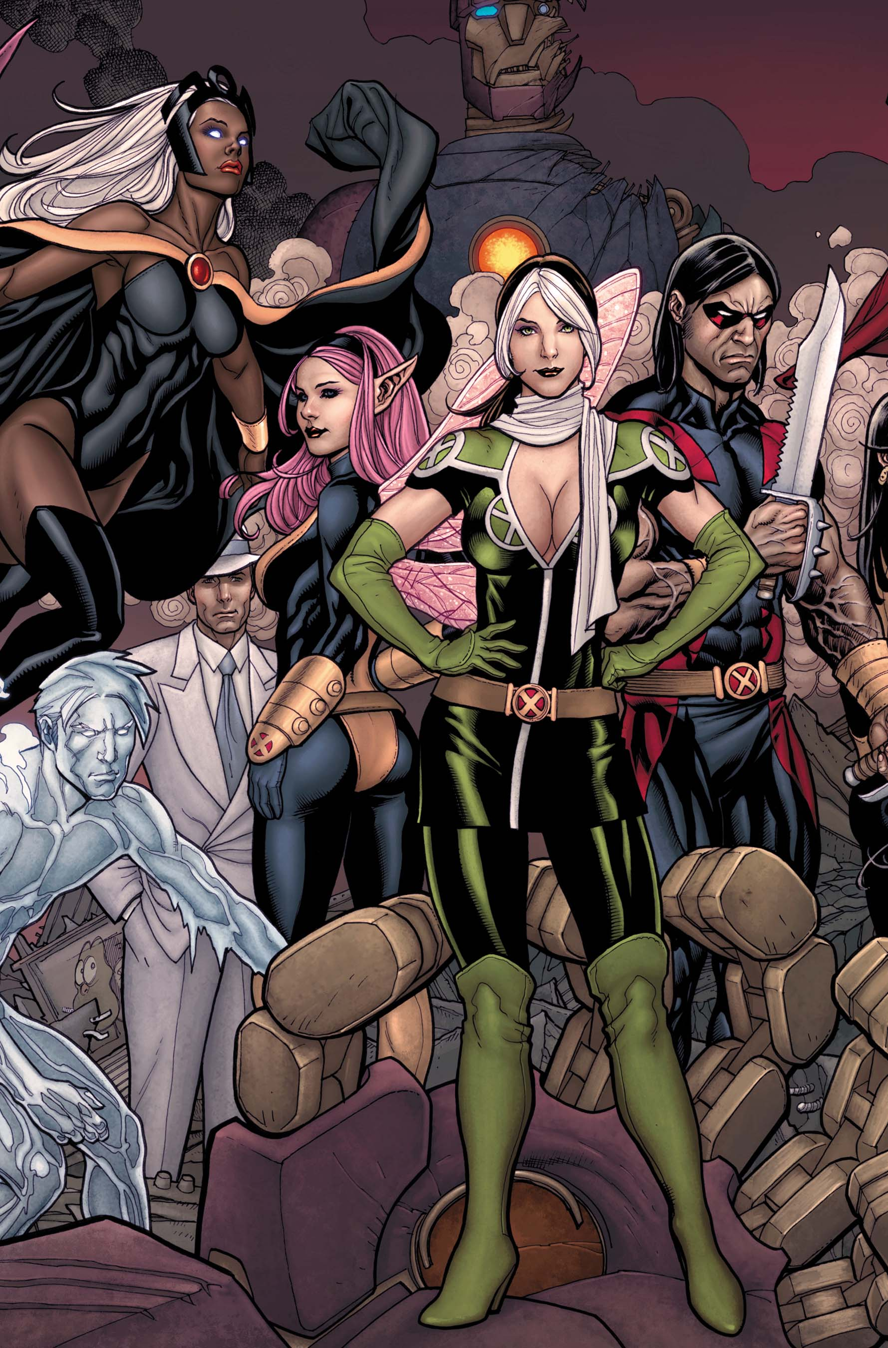 Franke Menden Marvel In September 2011 X Men And Mutants