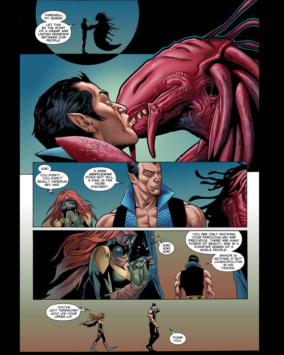 Aliens Cute Wallpaper Sub Mariner Comic Book Tv Tropes