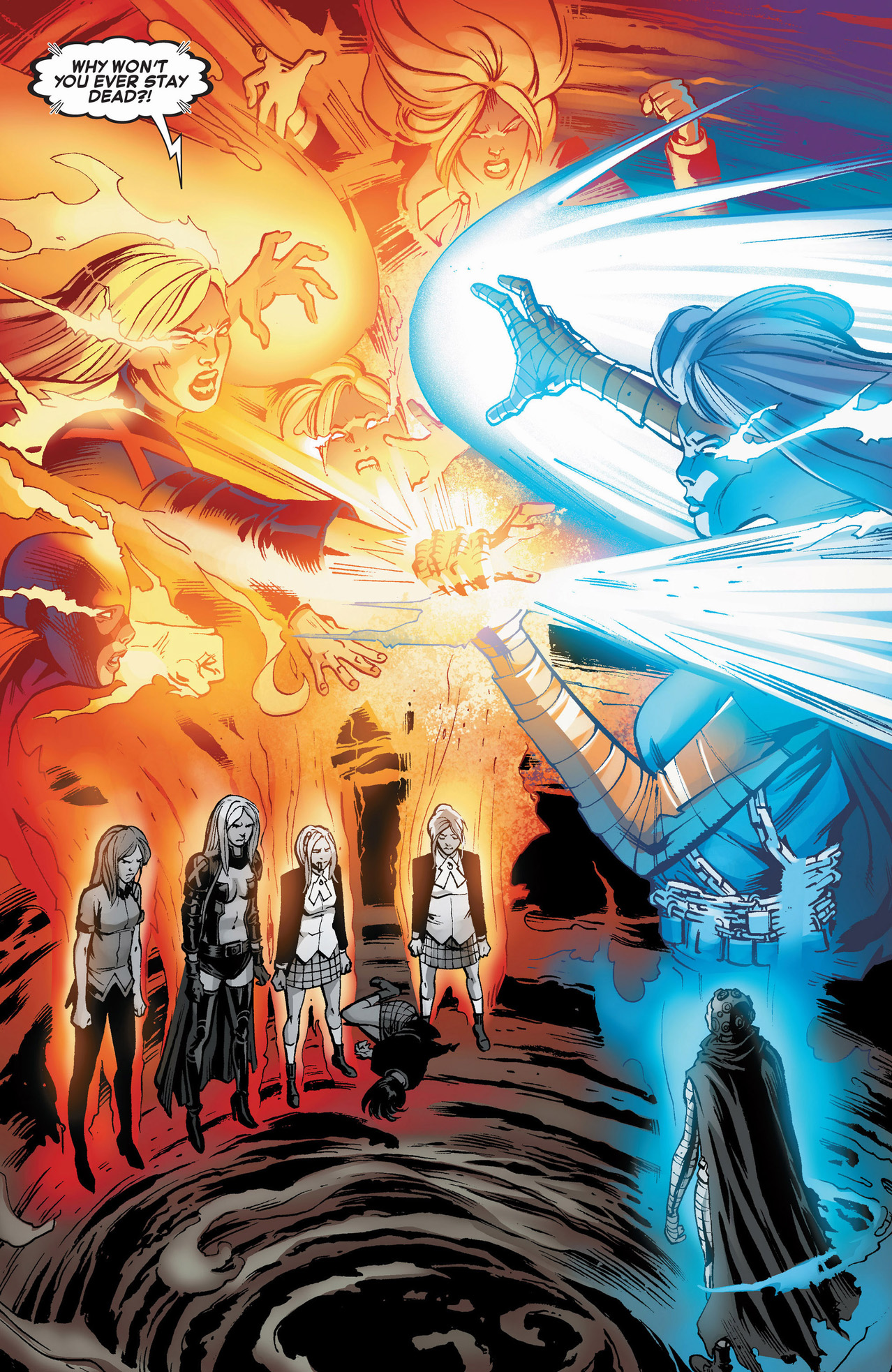 Yoda Wallpaper Quotes Emma Frost Jean Grey And The Stepford Cuckoos Vs Future