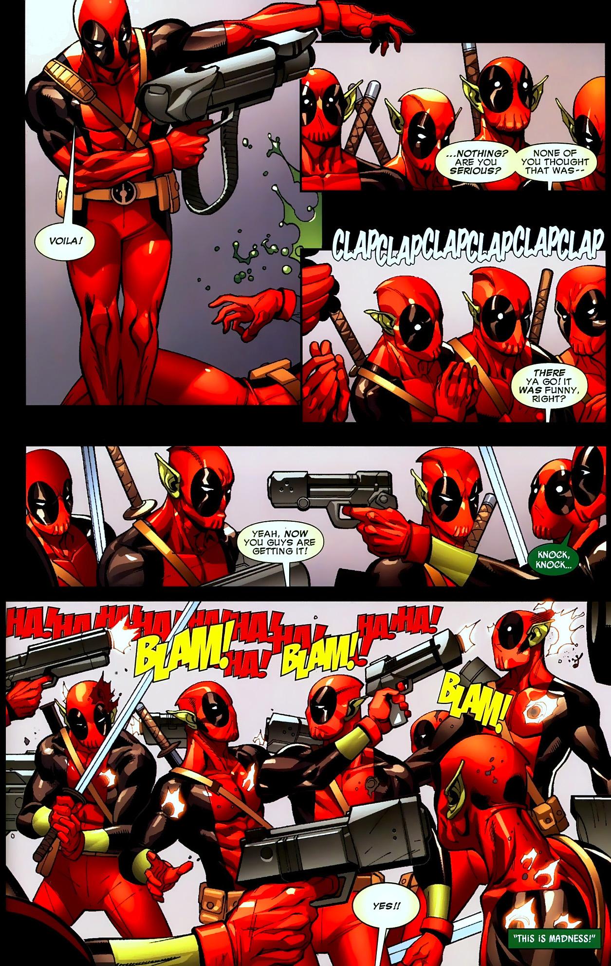 Yoda Wallpaper Quotes Deadpool Trains His Deadpool Type Super Skrulls Comicnewbies
