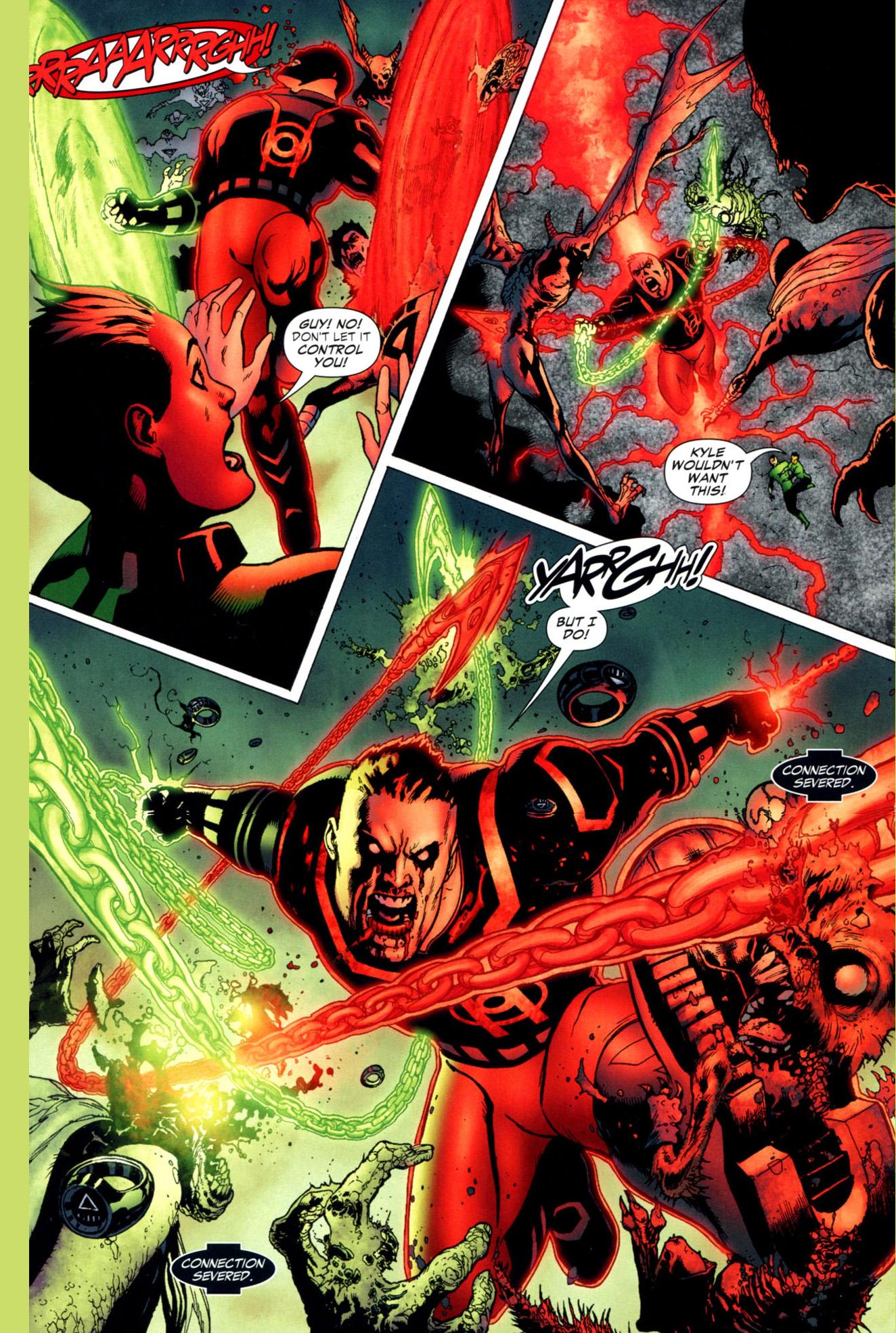 Anime Devil Wallpaper How Guy Gardner Became A Red Lantern Blackest Night
