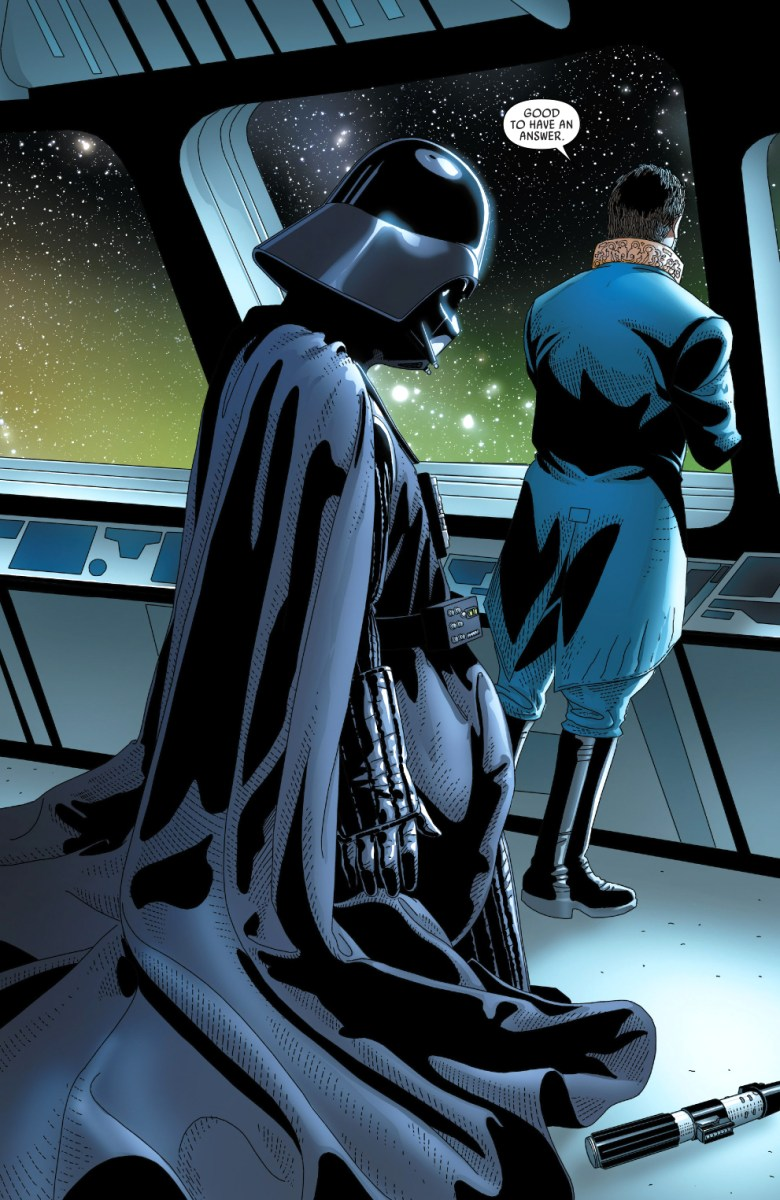 Queen Girl Wallpaper Cylo Iv S Secret Weapon Against Darth Vader Comicnewbies