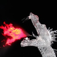 10 Amazing Ice Dragon Sculptures