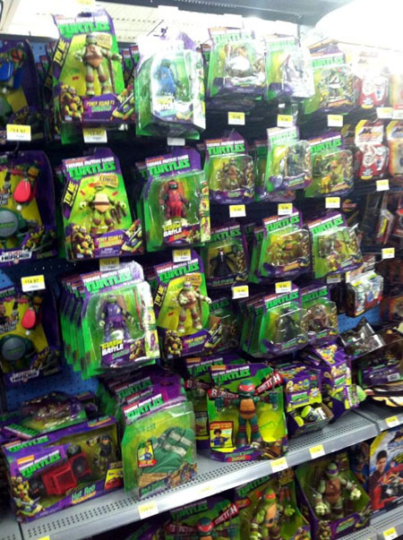 Toy Barn Toys R Us Tmnt Toys At Walmart Early September 2014 Comic