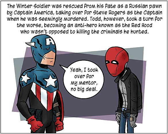Super Girl Cosplay Wallpaper Comics Everybody The Histories Of Bucky And Jason Todd
