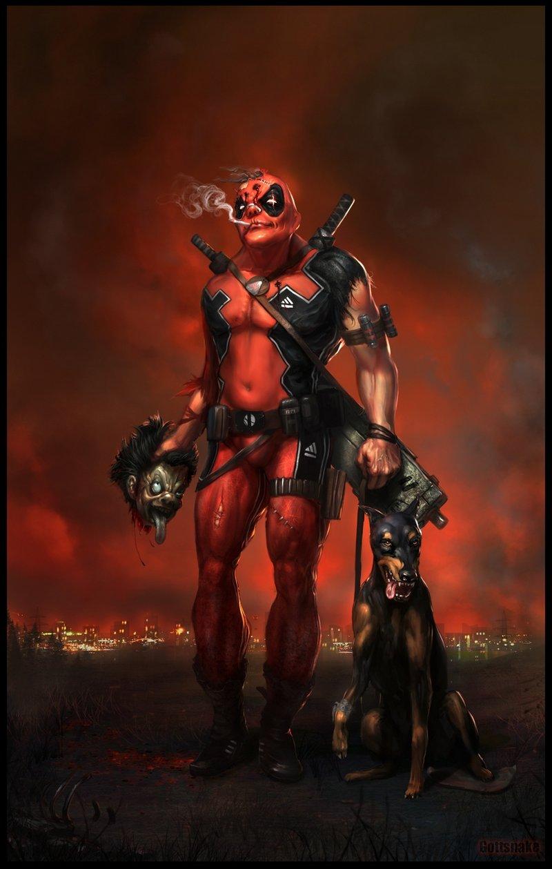 Badass Game Girl Wallpaper 10 Deadpool Comics Marvel Dc