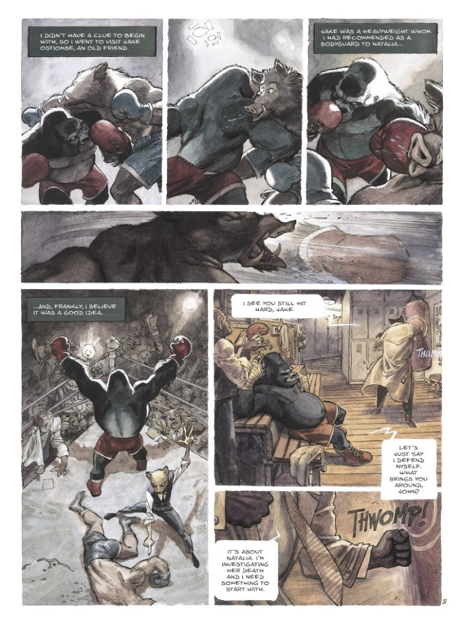 Blacksad page 5