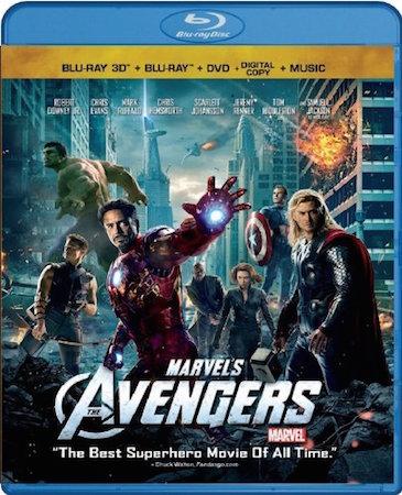 The Avengers Blu-ray