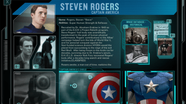 Avengers Second Screen screenshot for Captain America