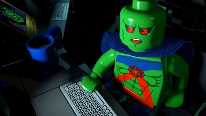 Martian Manhunter in Lego Batman: The Movie