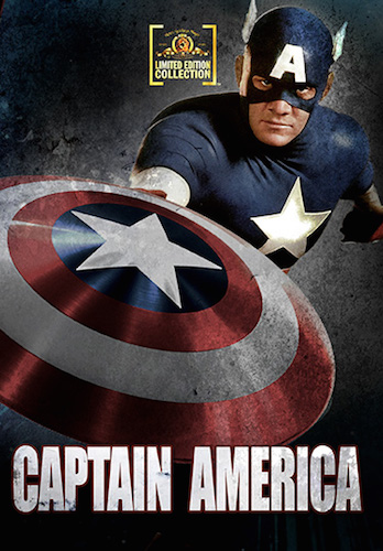 Captain America on DVD