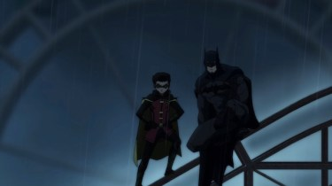 Son of Batman promo image - Batman and Damian