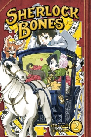 Sherlock Bones volume 2 cover