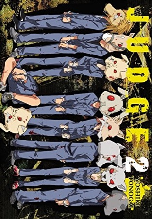 Judge volume 2 cover