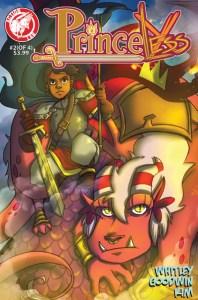 Princeless #2 cover