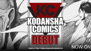 Kodansha ComiXology debut