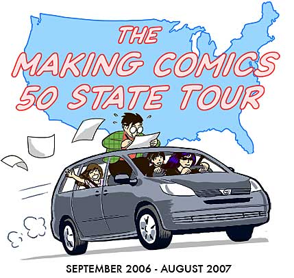 Scott McCloud's Making Comics tour